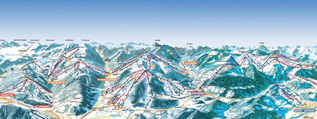 Ski Amade dla singli, narty w Alpach