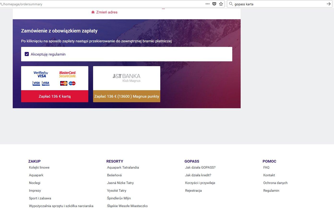 Gopass Instrukcja Zamowienia Online Wyjazdy Wczasy Dla Singli Z