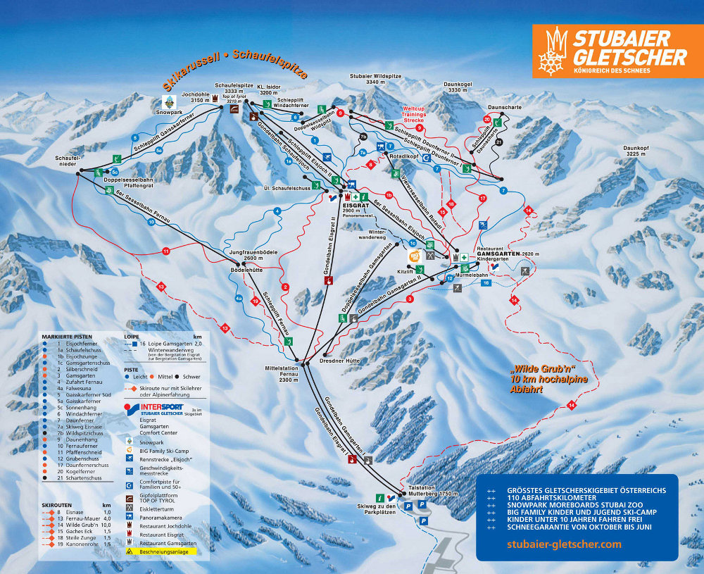 Majówka lodowiec Stubai, Austria dla singli, narty w Alpach