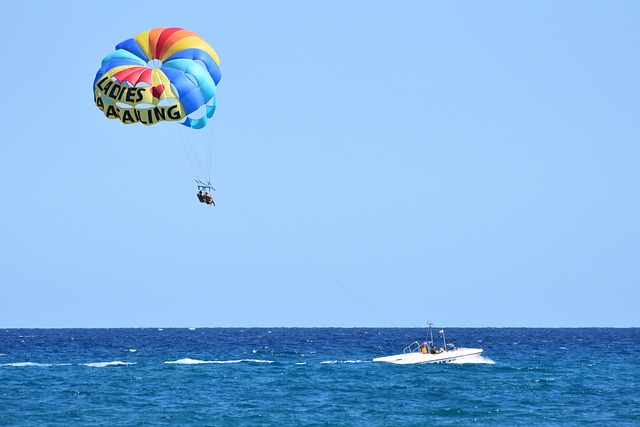 Loty spadochronem (parasailing)